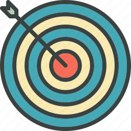aim, bullseye, goal, sea, target icon