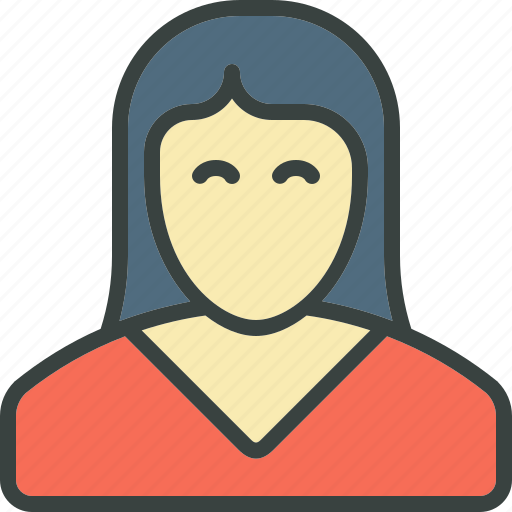 avatar, profile, user, woman icon