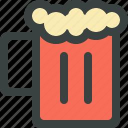 alcohol, beer, beverage, drink, mug, restaurant icon