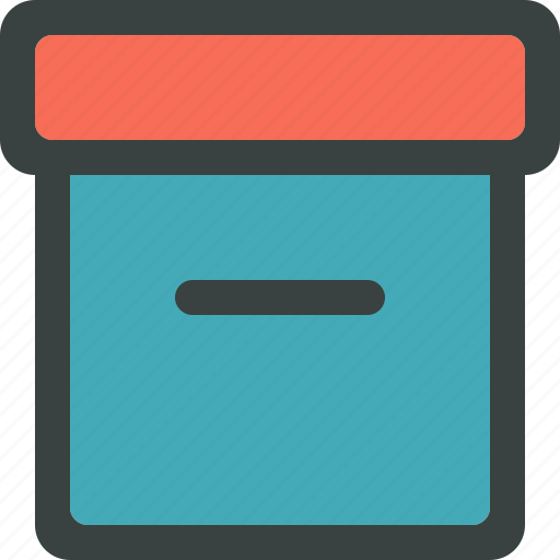 archive, archiver, box, categorize, category, document, documents, folder, gift, open, package, present, stack icon