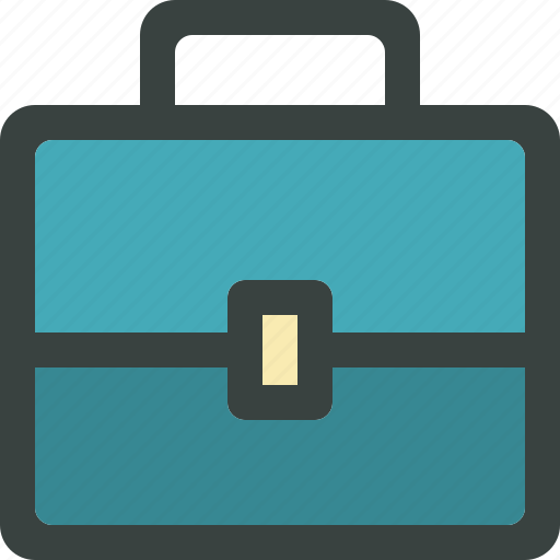 briefcase, business, businessman, ecommerce, finance, financial, job, job board, suitcase, work icon