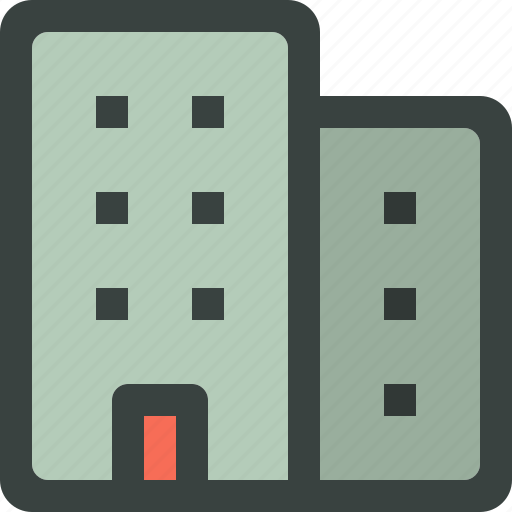 building, business, commercial, home, house, office, offices, residential, skyscraper icon