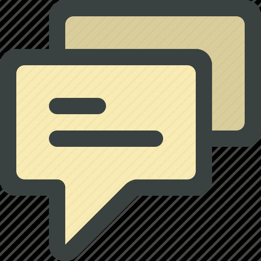 bubble, chat, chat bubble, comment, comments, communication, message, speech, talk icon