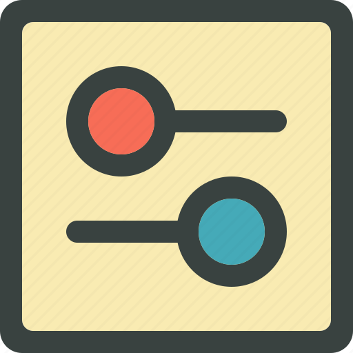 adjust, audio, equaliser, equalize, media, multimedia, music, sound, volume icon