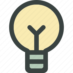 bulb, electric, electricity, energy, idea, ideas, lamp, light, light bulb, lightning, power icon