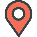 destination, direction, find, gps, locate, location, locator, map, marker, pin, pinpoint, search, spot icon