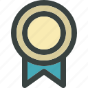 achievement, award, badge, best, first, gold, medal, prize, reward, success, trophy, victory, win, winner icon