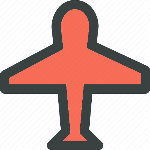 air, airplane, flight, fly, plane, speed, transport, transportation, travel, vehicle icon