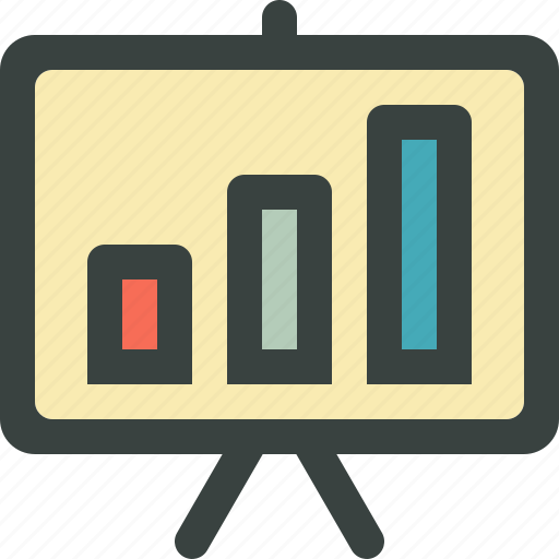 audience, bull market, business, finance, financial, graph, lecture, meeting, presentation, rise, stats, stock market icon