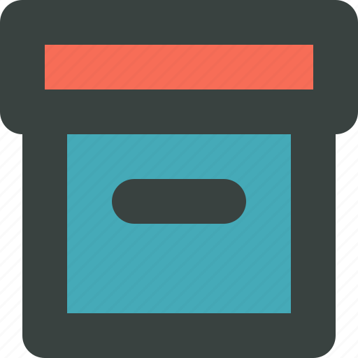 archive, box, document, documents, files, folder, gift, organize, organizer, pack, packing, paper, papers, stack icon