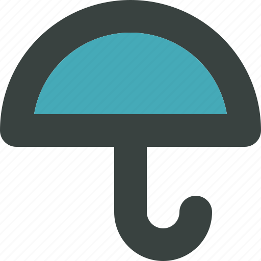 cloud, clouds, cloudy, cover, forecast, protect, protection, rain, safe, safety, secure, shield, storm, umbrella, weather icon