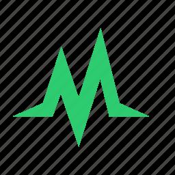 activity, health, life, pulse icon