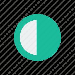 adjust, contrats, design icon