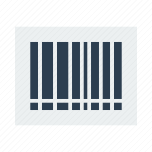 barcode, product icon