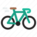 bicycle, bike, sports, travel icon
