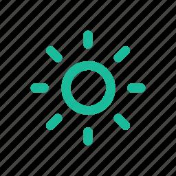 brighten, brightness icon
