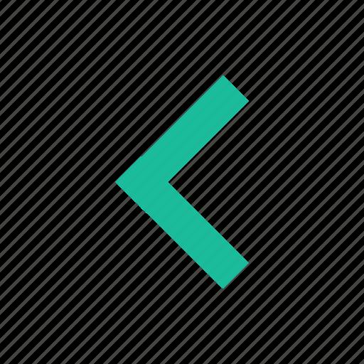 Arrow, chevron, left icon - Download on Iconfinder