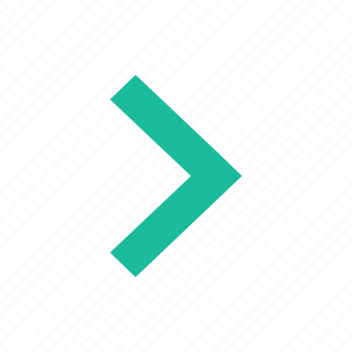 arrow, chevron, right icon