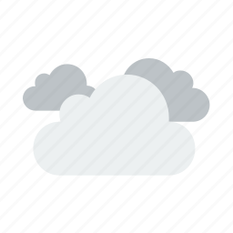 clouds, cloudy, weather icon