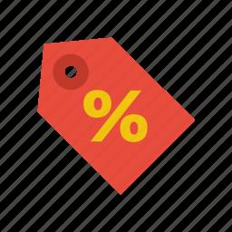 discount, rebate, sale, shop, tag icon