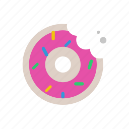 donut, food, nutrition icon