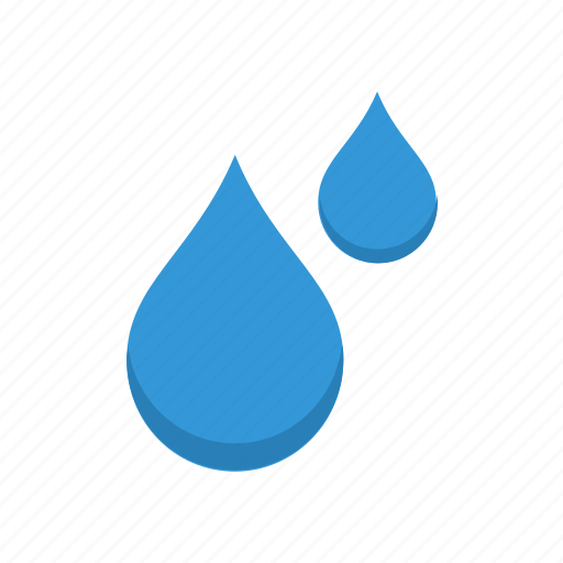 drops, water icon