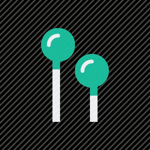 earbuds, listen, music, sound icon