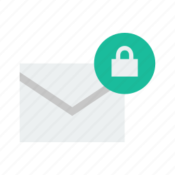 email, lock icon
