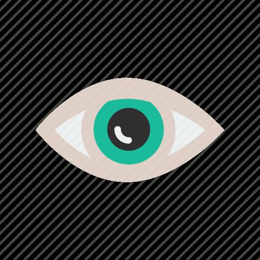 eye, visibility icon