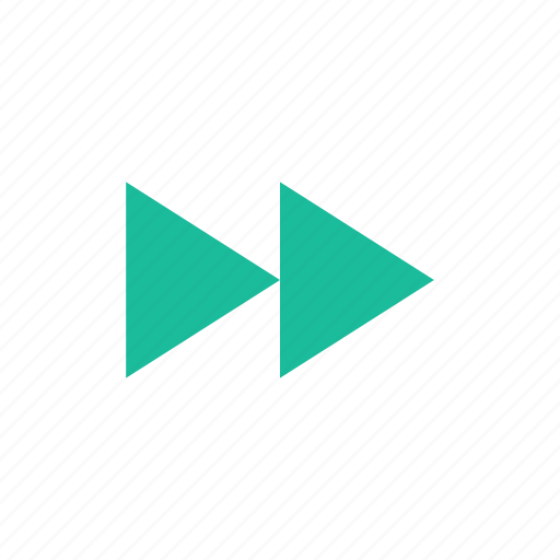 control, forward, player icon