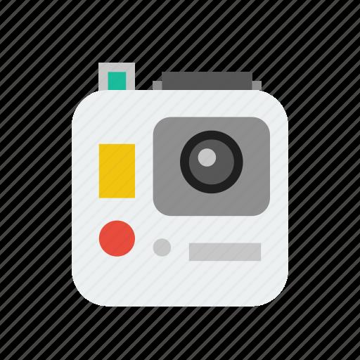 camera, gopro, video icon