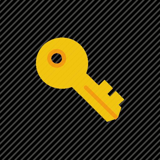 key, log in, login, secure icon