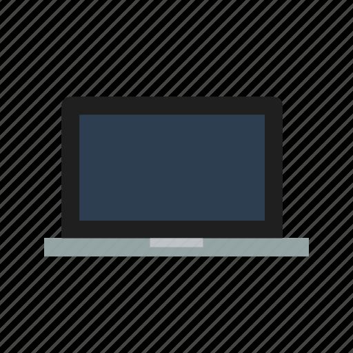 computer, laptop, macbook icon