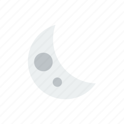 moon, weather icon