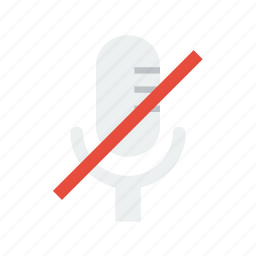 mic, mute icon