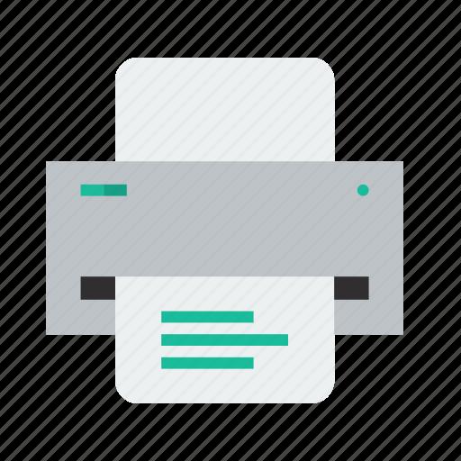 print, printer icon