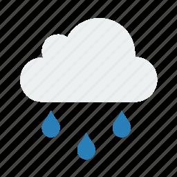 nature, rain, weather icon