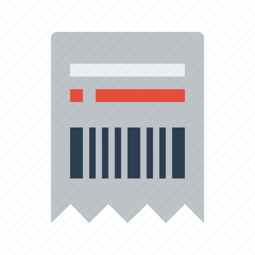 billing order proof purchase receipt shop statement icon