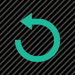 replay, restart icon