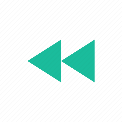 controls, player, rewind icon