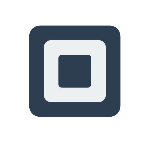 billing, payment, square icon