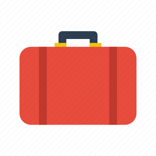 briefcase, case, luggage, suitcase, travel icon