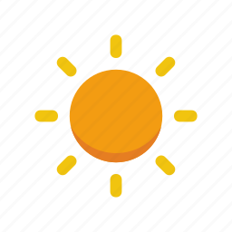 hot, nature, summer, sun, weather icon