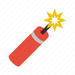 bomb, dynamite, tnt icon