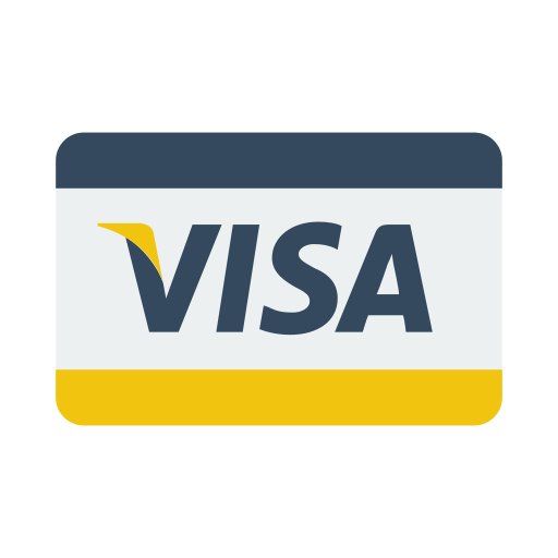 credit card, payment, visa icon