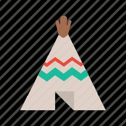 camp, teepee, tent, wigwam icon