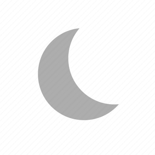clear, clear night sky, forecast, moon, night, sky, weather icon