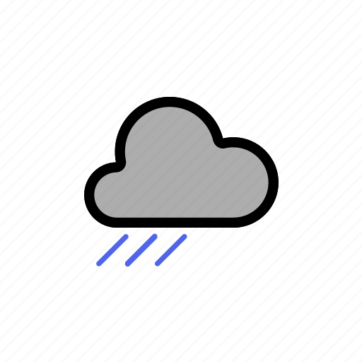 clouds, cloudy, dark, dark cloud, forecast, rain, sleet, snow, storm, weather, winter, with icon