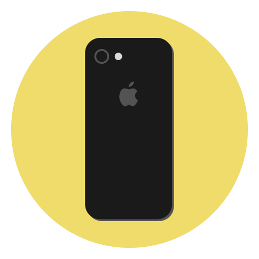 apple, device, ios, iphone, iphone 7, mobile, smartphone icon