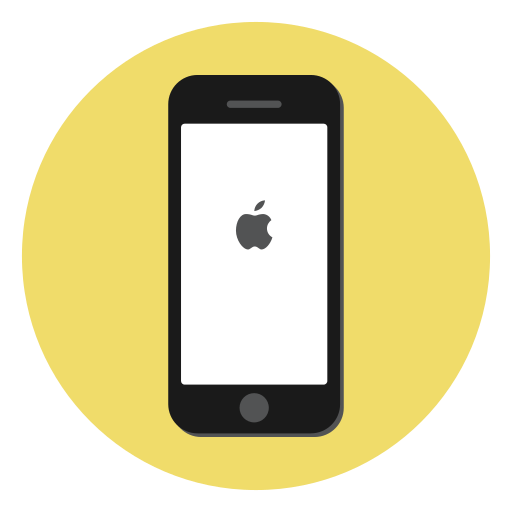Apple, device, ios, iphone, iphone 7, smartphone, mobile icon - Free download
